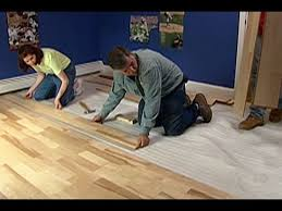 how to install pre finished engineered flooring this old house you