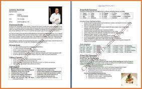 Chef Bio Examples Resume Bio Sample Resume Samples