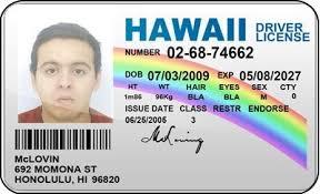 Products Superbad Badges Identification Amazon Fake Card com License Mclovin Hawaii Office Id Driver