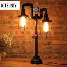 steampunk lamp diy steampunk lamp pipe steampunk lamp industrial pipe chic light loft vintage industrial table steampunk lamp diy