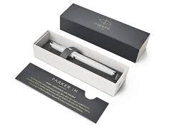 Купить <b>Перьевая ручка</b> Parker <b>IM</b> Metal White CT/1931672 в ...