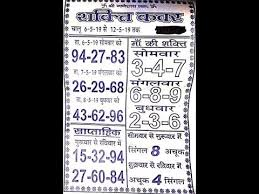 Desawar Weekly Chart Videos Matching 18 05 2019 Faridabad Gaziyabad Gali Or