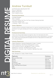 Sample Resume Australian Resume Sample Skill Summary And Sales