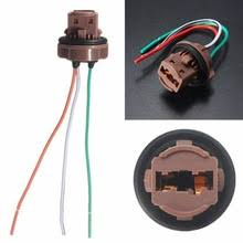 led wiring harness online shopping the world largest led wiring 12cm wire wedge sockets plug connector harness for standard t20 7440 7443 led turn signal brake bulb light lamp 12v car styling