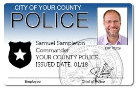 Police Id com 2018 - Card Www cardintegrators