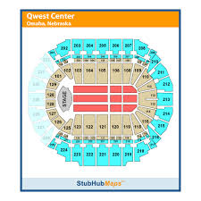 Chi Health Center Seating Chart Chi Health Center Formerly Centurylink Center Events And