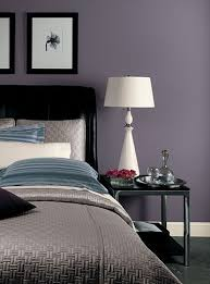 purple bedroom walls