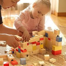 varis wooden marble run xl puzzle blocks set