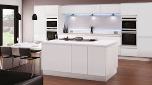 fitted kitchens designs. Contour White Fitted Kitchens Designs L