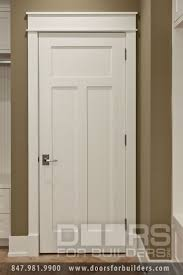 Craftsman Style Custom Interior Wood Doors | Custom Wood Interior Doors |  Door from Doors for