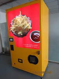 Machine Vending China Stunning Chinese Company Launches French Fries Vending Machine
