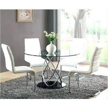 42 round glass dining table round dining table sets inch glass top dining table dining room