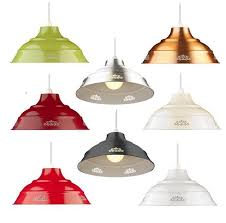 large fl metal coolie vintage ceiling lampshade light shade easy fit pendant