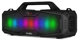 Колонка <b>SVEN PS</b>-<b>480 Black</b> (bluetooth, подсветка) купить в ...