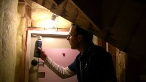 How to stop drafts around attic doors? - YouTube