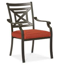 Patio Furniture Kitchener Allen Roth Kingsmead 4 Count Steel Patio Dining Chair Deck