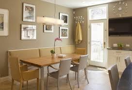 Image of: Stylish Corner Bench Kitchen Table
