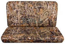 wetland camo bench seat covers
