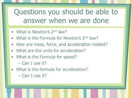 questions you should be able to answer when we are done