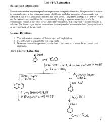 Solved I Am Doing The Lab Report For My Organic Chem 1 La