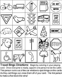 Small Picture Travel Bingo Board 2 crayolacouk
