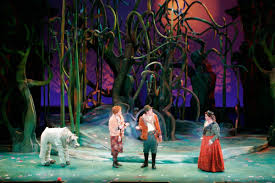 Into The Woods Set Design Broadway Into The Woods Set Design By Todd Ivens Scenic And