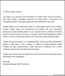 Employee Promotion Contract Template Recommendation Letter Sample