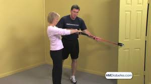 Standing Pull Exercise Video - YouTube