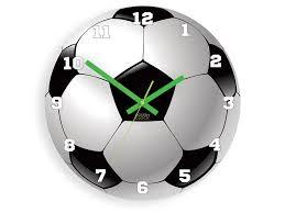kids wall clock football wall clock ball boy wall clock children wall clock