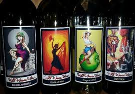 Cool Wine Labels Great Wine Cool Labels And Super Nice Owners Wild Women