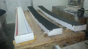 concrete wall cap forming curved wall caps concrete wall cap stones