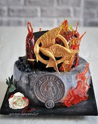 really cool hunger games cakes. Interesting Really TheHungerGames District 12 Cake To Really Cool Hunger Games Cakes