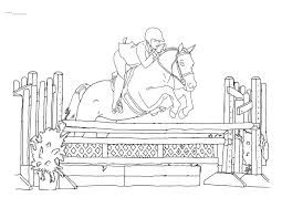 Small Picture Horse Show Jumping Coloring Pages Coloring Pages