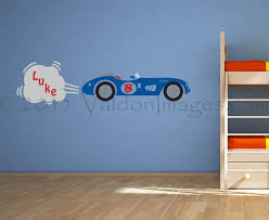 race car wall decal nursery decals kids wall decal boys room design ideas of racing car