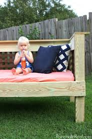 diy outdoor daybed simple build make it for 200 or less
