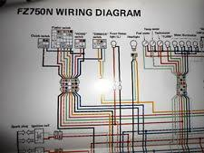 yamaha colorful in parts accessories yamaha oem factory color wiring diagram schematic 1985 fz750n