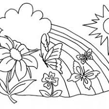 Shining Free Flower Coloring Pages With Flowers Printable To Color