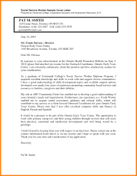 Best Solutions Of 9 Social Work Cover Letter Sample With Cover