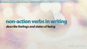 what are action words definition