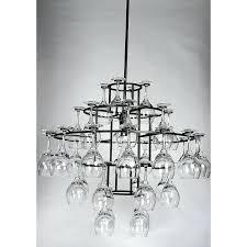 wine glass chandelier ing frame diy tesco direct