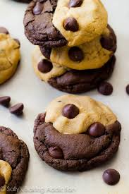 peanut butter chocolate cookies. Wonderful Peanut How To Make Softbaked Peanut Butter And Chocolate Cookies That Are Swirled  Together In With Peanut Butter Chocolate Cookies G