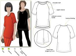 Raglan Sleeve Pattern New Meg Raglan Tee Style Arc