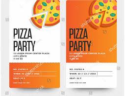 Pizza Party Invitation Templates Pizza Party Flyer Template Free Pizza Party Invitation Template
