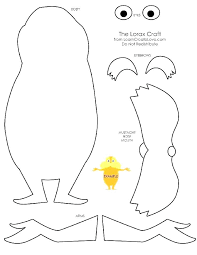 Lorax Coloring Pages The Coloring The Coloring Pages The Coloring