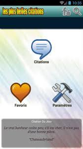 Les Plus Belles Citations For Android Apk Download