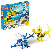 Mega Construx Pokemon Greninja vs. Electabuzz Construction Set with  character figures, Building Toys for Kids (340 Pieces) - Walmart.com -  Walmart.com