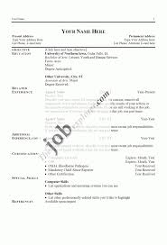 Good Resume Examples Examples Of A Good Resume Template Learnhowtoloseweightnet 84