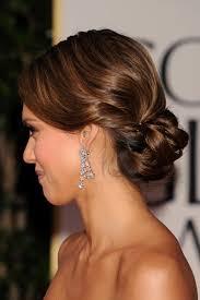 Jessica Alba Updo Hairstyles Recogidos Elaborados Para El D A De Tu Boda Inspirados En