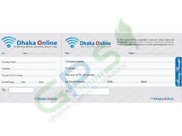 Money Receipt Print Dot Design Printing