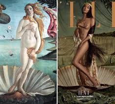 sandro botticelli s birth of venus was recreated with lea t a model that pushes boundaries of femininity